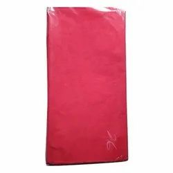 Red Cotton Cambric Lining Fabric, 50-100