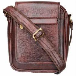 Stylish Genuine Leather Brown Laptop Briefcase SB003