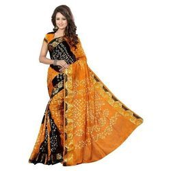 Casual Wear, Party Wear Printed Ladies Ethnic Saree