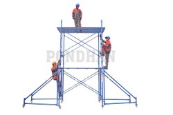 Pondhan Make Flash Paint Mild Steel Scaffolding System, For Construction, Dimension: 2 Mts X 2 Mtrs X 1.1 Mtrs