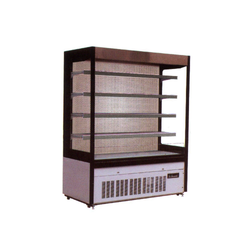 Single Phase Automatic Multi Deck Open Chiller, Storage Capacity: 1900, Regular