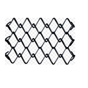 Galvanized Iron Chain Link Fence For Farm House