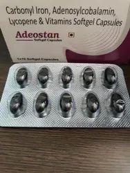 Carbonyl Iron ,Adenosylcobalamin,Lycopene,Vitamin