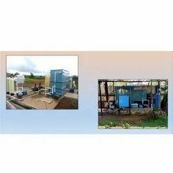 Sewage Treatment Plant, Capacity: 5000LPH