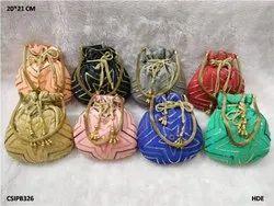 Beautiful Designer Handwork Colorful Potli Bag