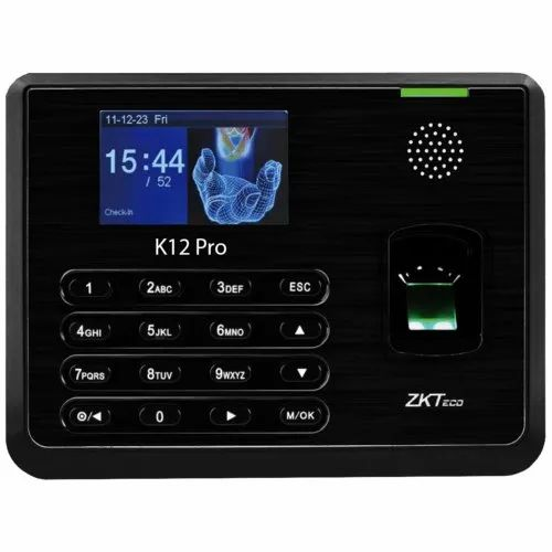ZKTeco Wired Time Attendance and Access Control Solutions, 20 To 80%, Warranty: 1 Year
