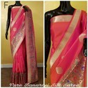 Indian Ethnic Designer Pure Banarasi Silk Saree