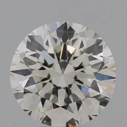 2.20ct Lab Grown Diamond CVD H VVS2 Round Brilliant Cut IGI Certified Stone