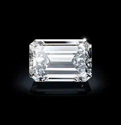 Emerald Diamond 4.01ct G VS1 CVD TYPE2A IGI Certified