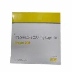 Lyra Itranconazole 200 Mg Capsules