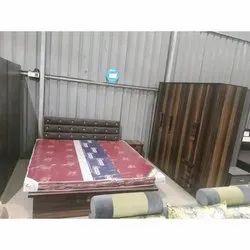 Teak Wood Diamond Bedroom Furniture Set