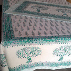 2 Pillow Cotton Printed Bed Sheet