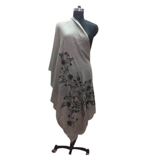 ebefd06563 Woolen Embroidered Shawl, Rs 1750 /piece, Bhat Impex | ID: 18749044948