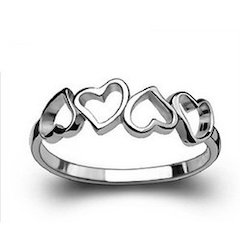 47421a5e1 Graceful 925 Sterling Silver Ring at Rs 350 /piece | Sterling Silver ...
