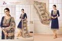 V Neck Madhushala Salwar Suit Fabric