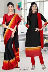 Hotel Uniform Saree Salwar Combo