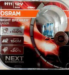 Osram H11 Night Breaker Laser, Voltage: 12V