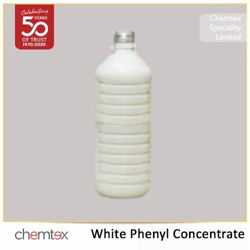 Liquid CX White Phenyl Concentrate, Packaging Type: Bottle