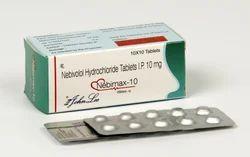 Nebivolol Hydrochloride 10 Mg Tablets