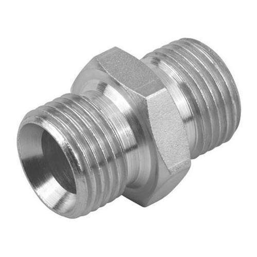 Nascent Stainless Steel Socket Weld Parallel Nipple Fitting ASTMA182, Size: 1/2 Inch