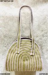 Designer & Exclusive Jute Cotton Handbag