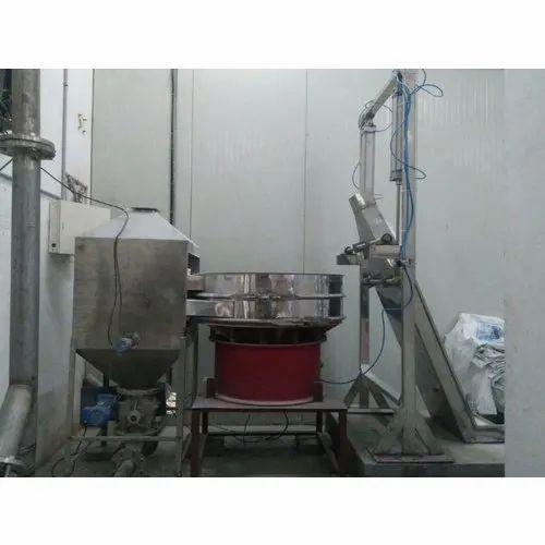 Mild Steel Continues Sugar Transfer System