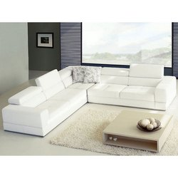 White Modular Office Sofa