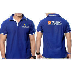Polyester Printed Men Corporate T Shirt, Packaging Type: Packet
