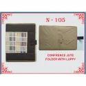 Velcaro A4 Size Paper Jute Folder, Packaging Type: Packet