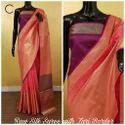 Handloom Weaving Raw Silk Saree