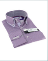 Purple Striped Calvintex Ventures Formal 1 Shirt