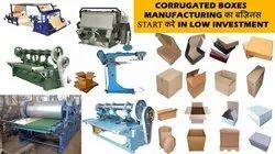 Paper plate buffer sheet making machinery(corrugation plant)