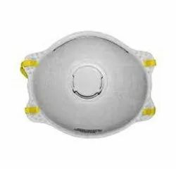 Respiratory White N95 Respirator Mask, For Pharma Industry, Size: Large