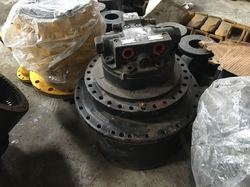 JCB JS-205 Excavator Track Device and Motor (Travel Drive)