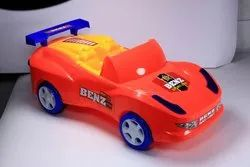 Red Plastic Sports Car Toy For Personal, No. Of Wheel: 4