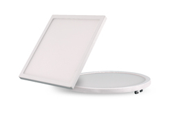 Aluminium 15 Watt Ultra Slim Panel Light Square