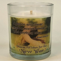 Scentiments New Year Motivational Candles