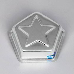Little Starred Pentagons Jelly Pans