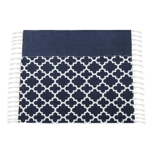 Woven Rectangle Cotton Rugs