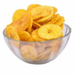 Banana Fry Chips & Tapioca Fry Chips, Coconut and palm, Packaging Type: Packet