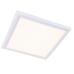 Ceramic And Aluminum LED Edge Lit Square Panel Down Light - 48W