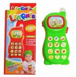 Mix Colour Learner Phone Toy, Packaging Type: Box Pack