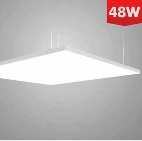 Invela Aluminium Powder Coated Led 48 Watts Panel Light Shape Square Rs 2880 Piece Id