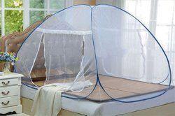 Blue Mosquito Net