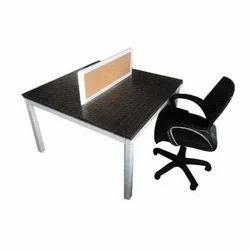 Swell Wooden Open Desk Workstation Ncnpc Chair Design For Home Ncnpcorg