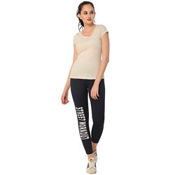 Ladies Navy Street Workout Track Pant
