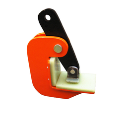 Red Mild Steel Pipe Plate Lifting Clamp, For Industrial