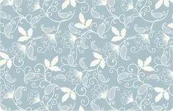 Sky Blue Flower Table Mat