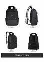 Sapling-Black Laptop Bag