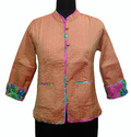 Reversible Silk Quilted Ladies Jacket